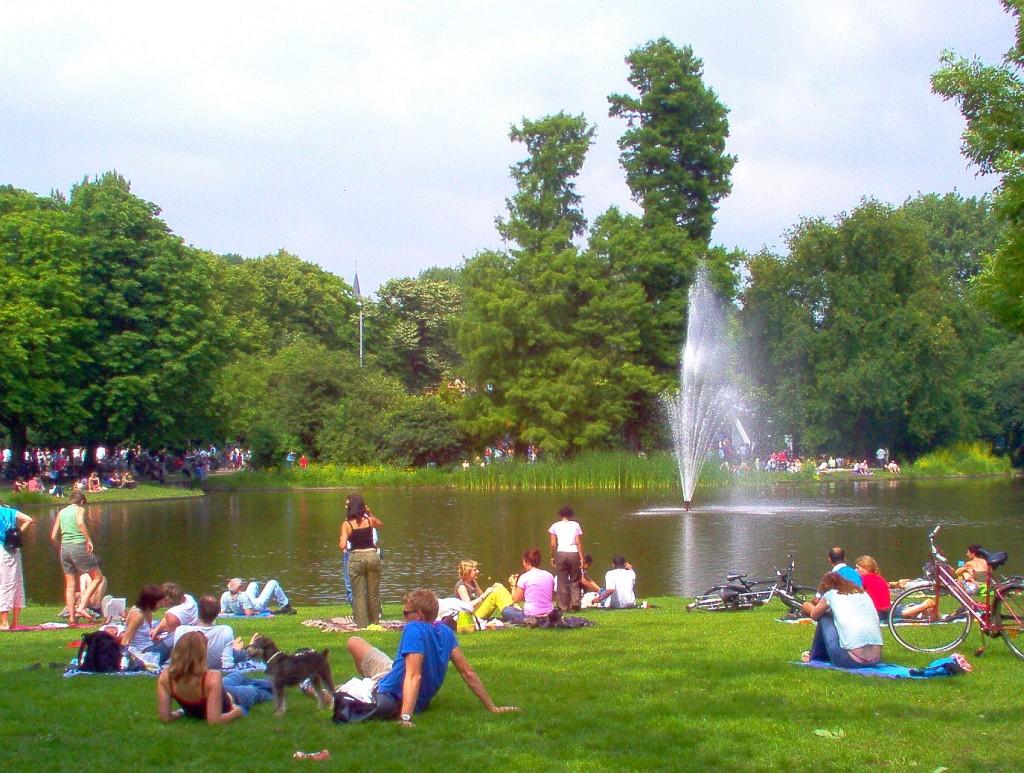 Ocio en los parques