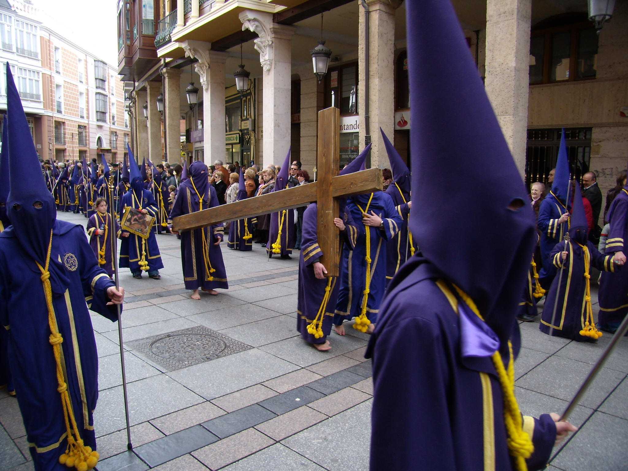Procesión semana santa Palencia